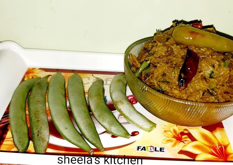 শিম ভর্তা | শিম Vorta তৈরির রেসিপি জেনে নিন ।